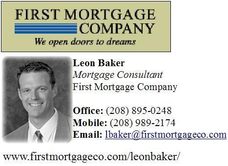 Idaho Real Estate Mortgage Man