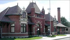 Nampa Idaho Train Depot